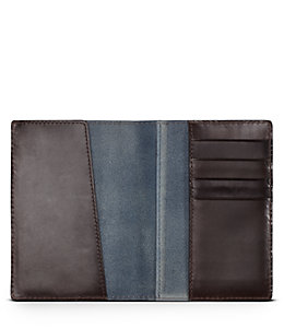 Mitchell Leather Passport Wallet