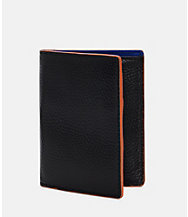Mason Leather Vertical Flap Wallet