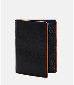Mason Leather Vertical Flap Wallet