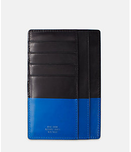 Dipped Leather Slim Passport Wallet