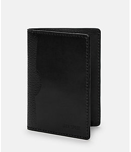 Grant Leather Vertical Flap Wallet