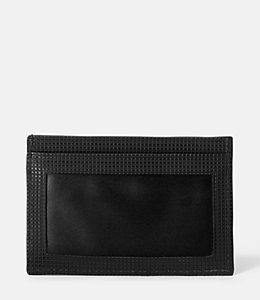 Varick Leather ID Wallet