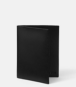 Barrow Leather Passport Holder Wallet