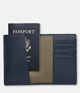 Walker Leather Passport Wallet