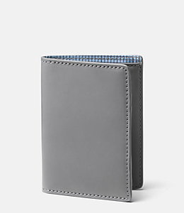 Walker Leather Vertical Flap Wallet