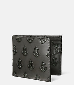 Embossed Anchor Billfold