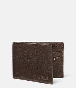 Grain Leather Bill Holder