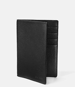 Grain Leather Passport Holder