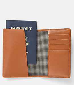 Walker Leather Passport Cover