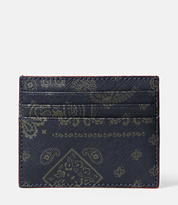 Bandana Barrow Leather 6 Card Holder