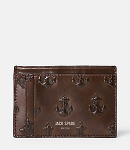 Embossed Anchor Id Wallet