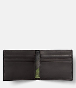 Camo Leather Slim Billfold