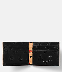 Embossed Anchor Slim Billfold