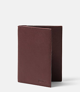 Barrow Leather Passport Wallet