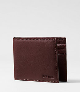 Barrow Leather Slim Billfold