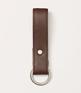 Barrow Leather Key Fob