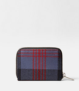 Cocharron Plaid Coin Wallet