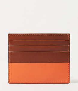Dipped Leather 6 Card Holder