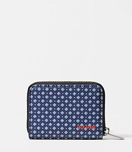 Mosaic Tile Barrow Leather Coin Wallet