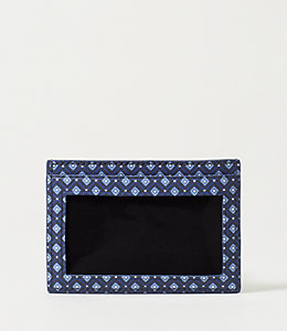 Mosaic Tile Barrow Leather Id Wallet