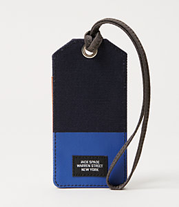 Industrial Canvas Dipped Luggage Tag