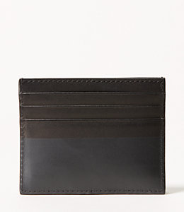 Dipped Leather SIx Card Holder