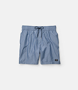 Chambray  Grannis Swim Trunks
