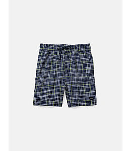 Large Plaid Grannis Swim Trunks