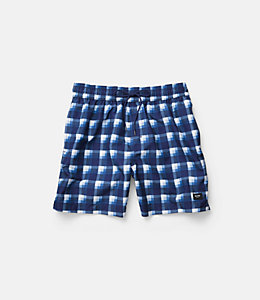 Plaid Grannis Swim Trunks