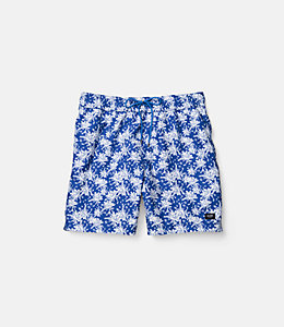 Tropical Floral Grannis Swim Trunks