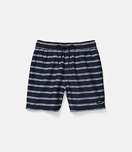 Drawn stripedd Swim Trunk