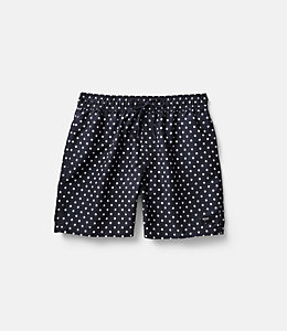Large Dot Swim Trunk