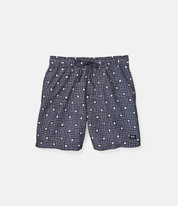 Large Graph Squares Swim Trunk