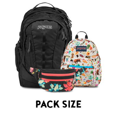 Shop by Backpack Size