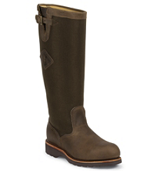 "17"" BAY APACHE STEEL TOE SNAKE BOOT"