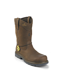 "10"" TOUGH BARK STEEL TOE WELLINGTON IQ"