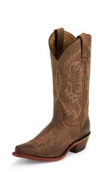 COYOTE VINTAGE COW SINGLE STICHED WELT,HANDCRAFTED IN THE USA