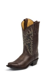 CHOCOLATE CALF SINGLE STITCHED WELT,HANDCRAFTED IN THE USA