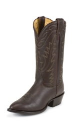 MEDIUM BROWN DEERTAN SINGLE STITCHED WELT,HANDCRAFTED IN THE USA