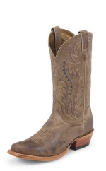 TAN VINTAGE COW SINGLE STITCHED WELT,HANDCRAFTED IN THE USA