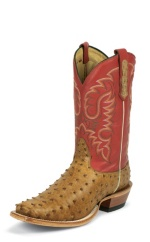 ANT SADDLE VINTAGE FULL QUILL OSTRICH DOUBLE STITCHED WELT,HANDCRAFTED IN THE USA