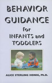 Behavior Guidance for Infants and Toddler