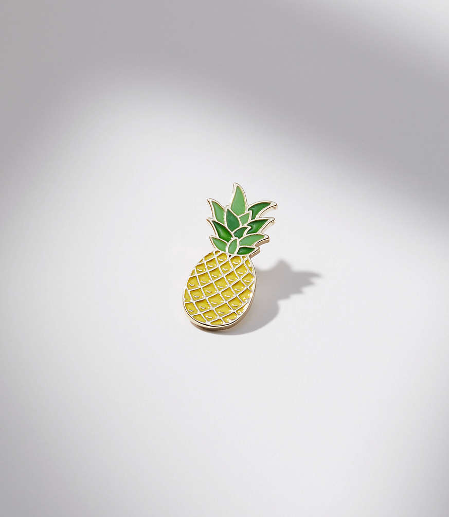 Pineapple Enamel Pin by Loft