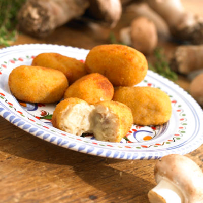 2 Packages of Croquetas de Hongos - Boletus Mushroom Croquettes
