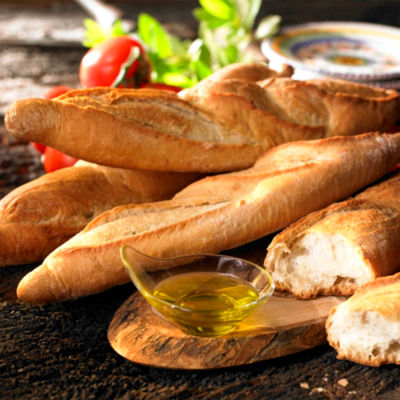 4 Loaves of Traditional Galician Bread - Barra Gallega by Peregrino