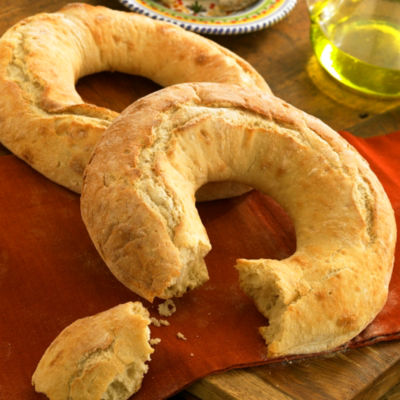 Ring Shaped Galician Bread - Roscas Gallegas by Peregrino (2 Loaves)