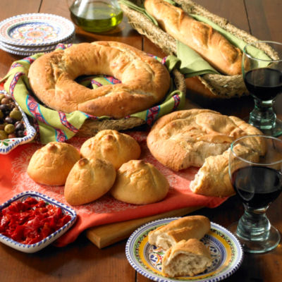 Rustic Galician Bread Sampler