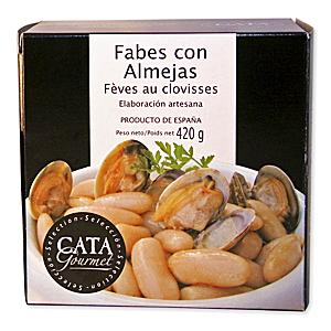 Fabes con Almejas - Asturian Beans with Clams