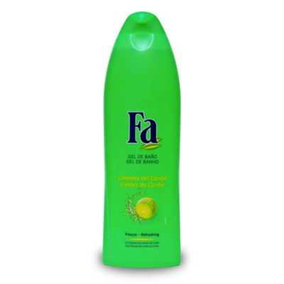 2 Bottles of Fa Caribbean Lime Shower Gel