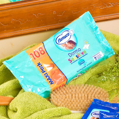 Nenuco Baby Wipes - Large Travel Pack